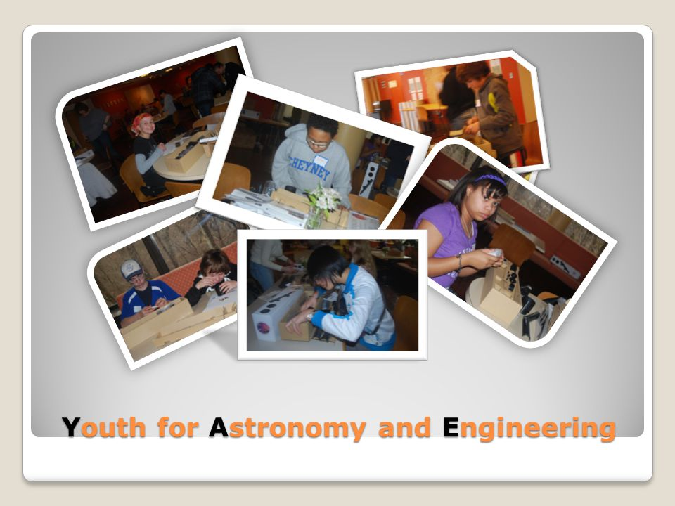 Youth for Astronomy and Engineering