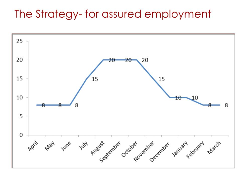 The Strategy- for assured employment
