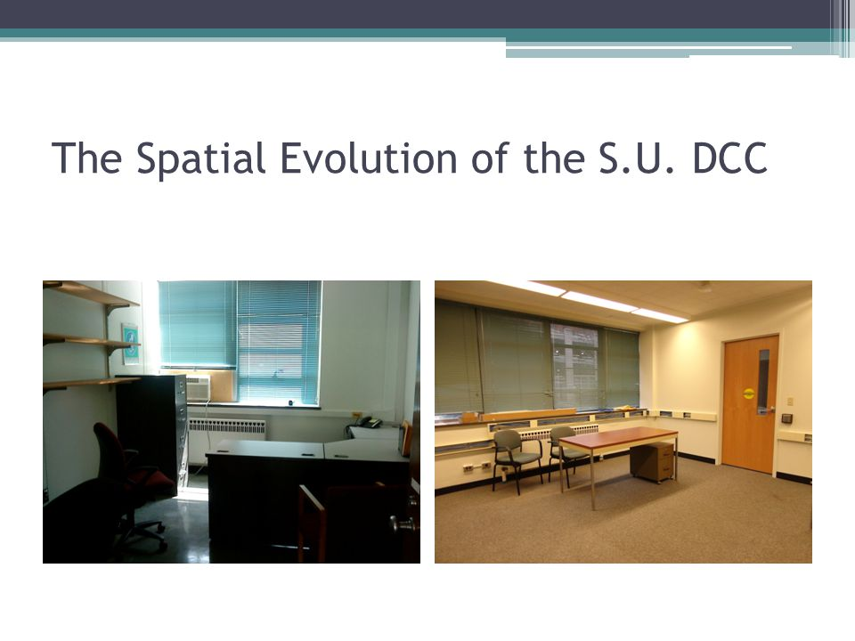 The Spatial Evolution of the S.U. DCC