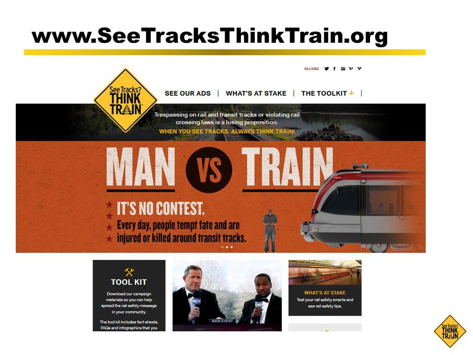 www.SeeTracksThinkTrain.org