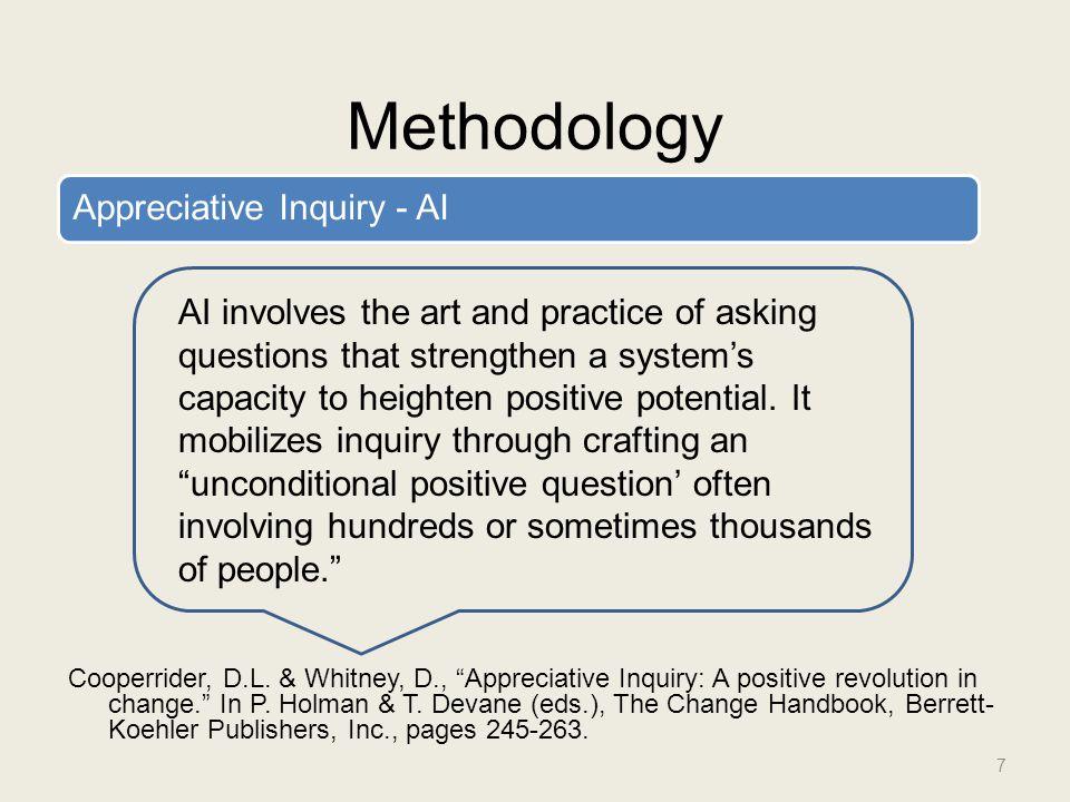 Methodology Cooperrider, D.L.