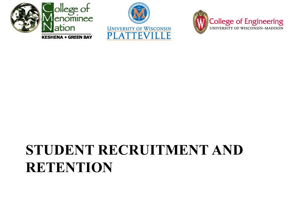 STUDENT RECRUITMENT AND RETENTION