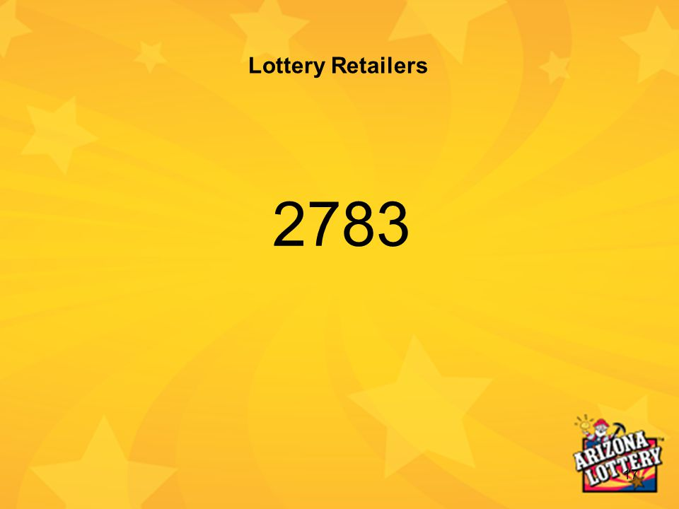 17 Lottery Retailers 2783