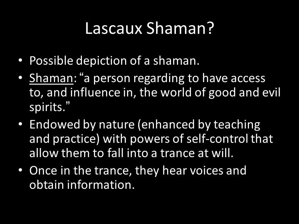 Lascaux Shaman. Possible depiction of a shaman.
