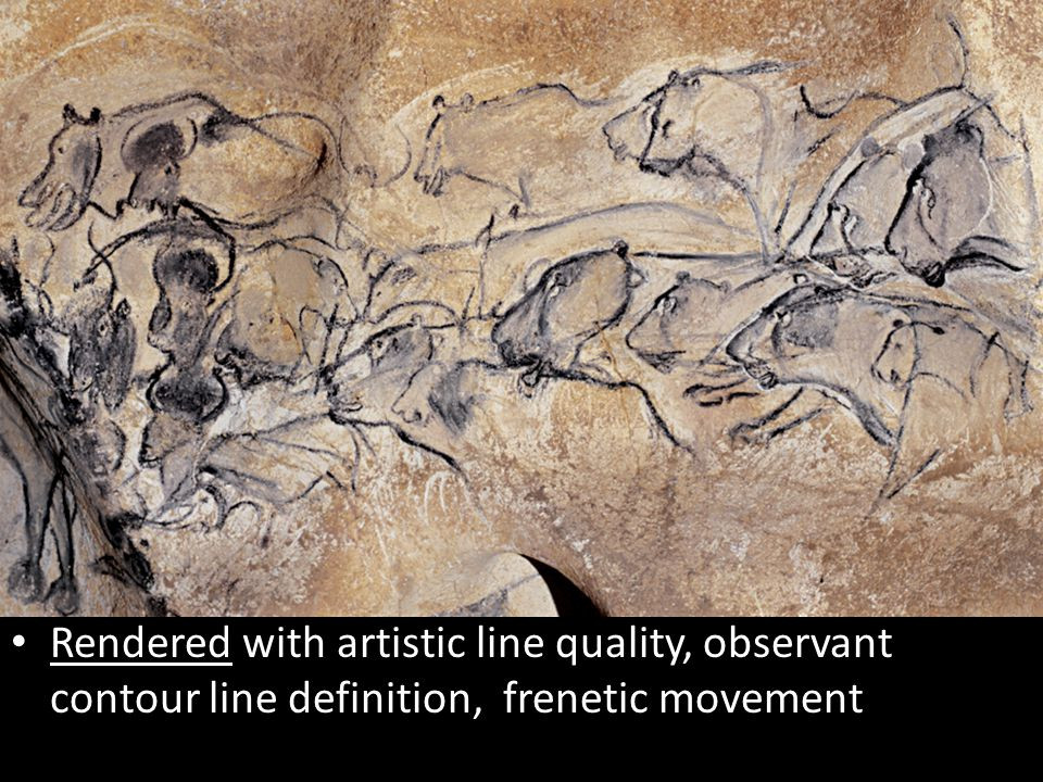 Rendered with artistic line quality, observant contour line definition, frenetic movement