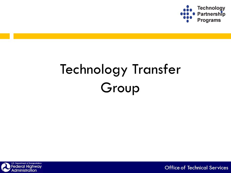 Technology Transfer Group