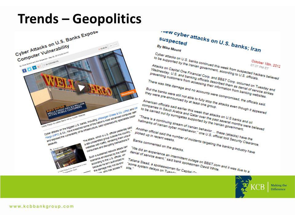 Trends – Geopolitics