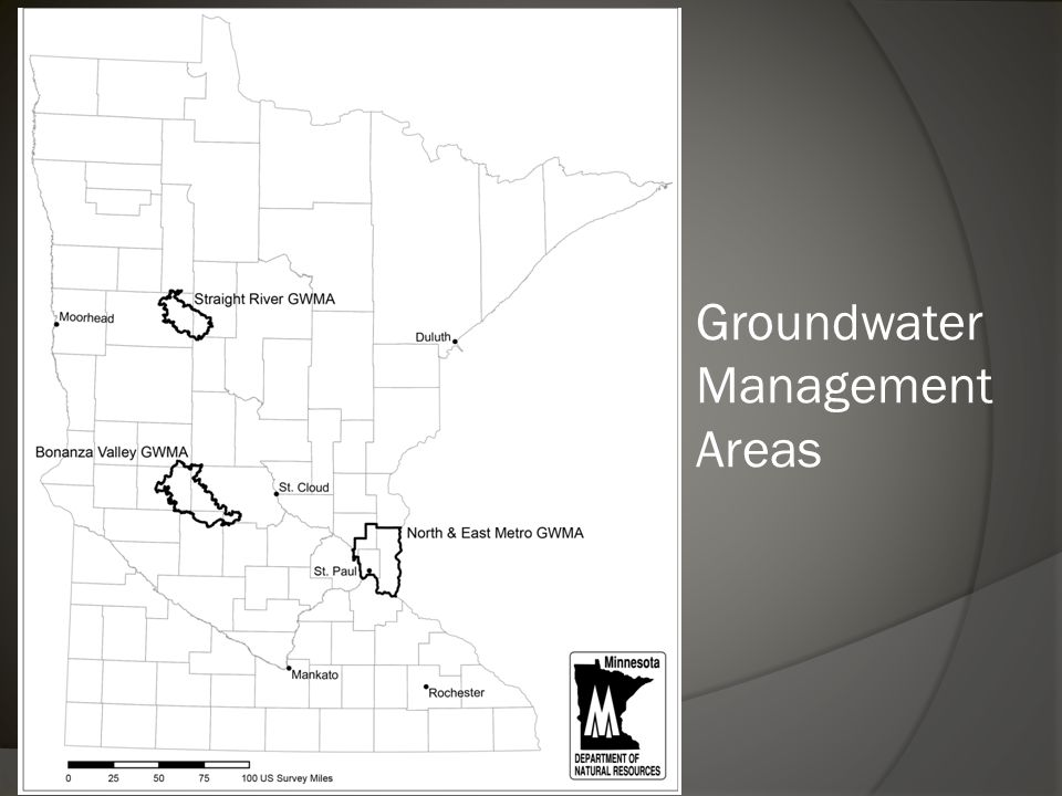 Groundwater Management Areas