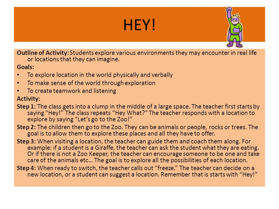 HEY.What developmental implications does this activity incorporate for the pre- school age.