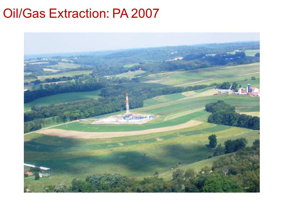 Oil/Gas Extraction: PA 2007