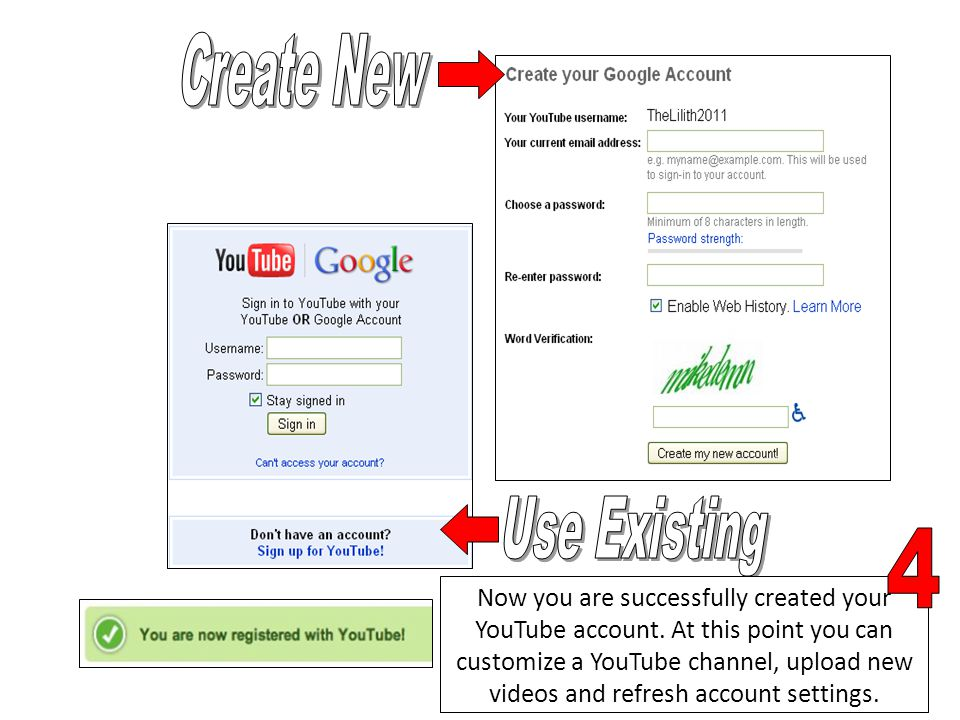 Now you are successfully created your YouTube account.
