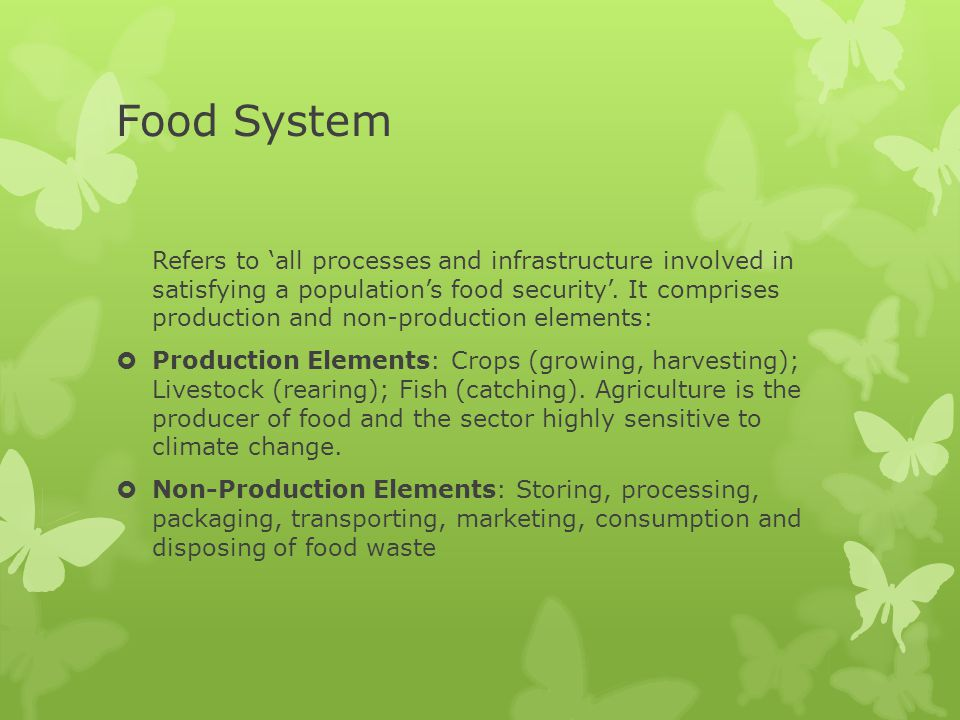 Impacts of Climate Change on Water Supply  Water is the most important driver of food production.