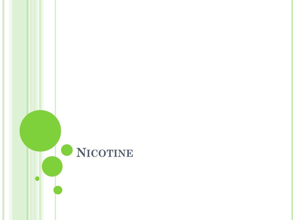 N ICOTINE