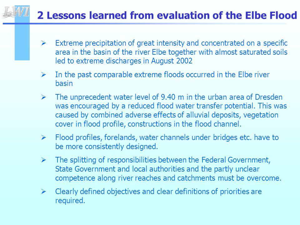 Responsibilities for the Federal Waterway Elbe