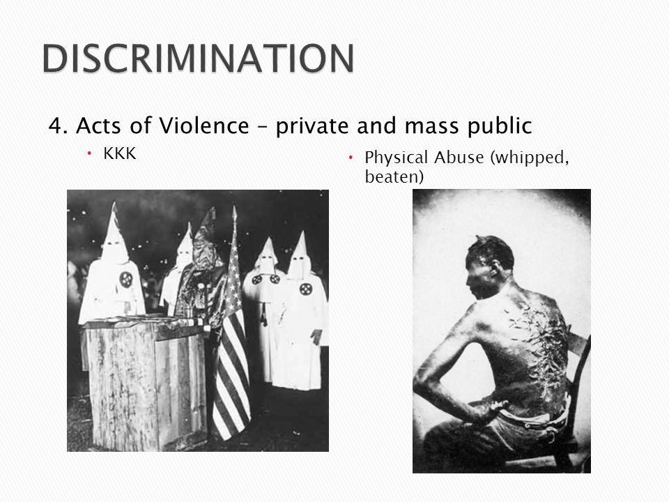  Lynching ◦ Often done by a mob – the forced capture and hanging of a person ◦ Usually chased, beaten, and then hung ◦ Done in many cases where the whites wanted to get their own justice ◦ Made a public spectacle ◦ Photos of lynchings used to promote regions and often show whites who are happy