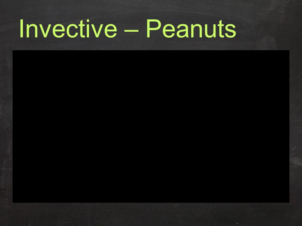 Invective – Peanuts