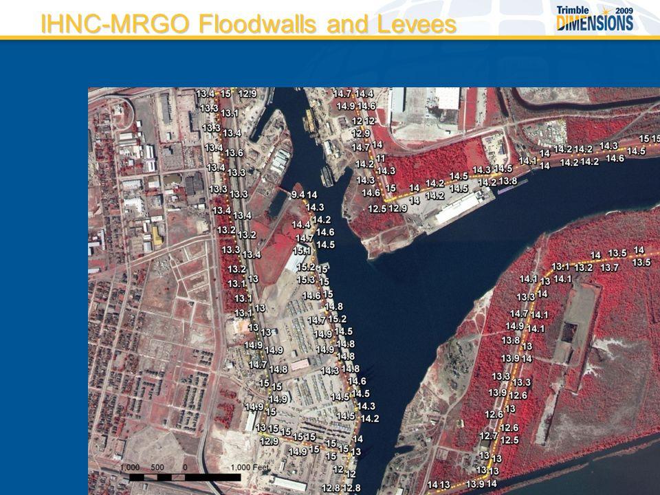 IHNC-MRGO Floodwalls and Levees