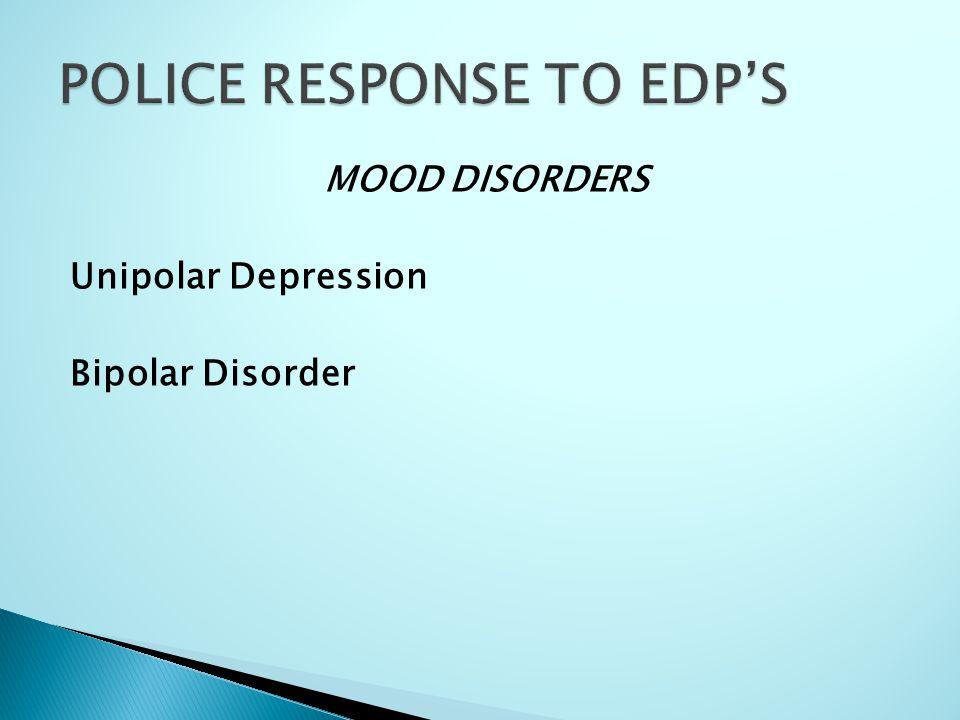 MOOD DISORDERS Unipolar Depression Bipolar Disorder