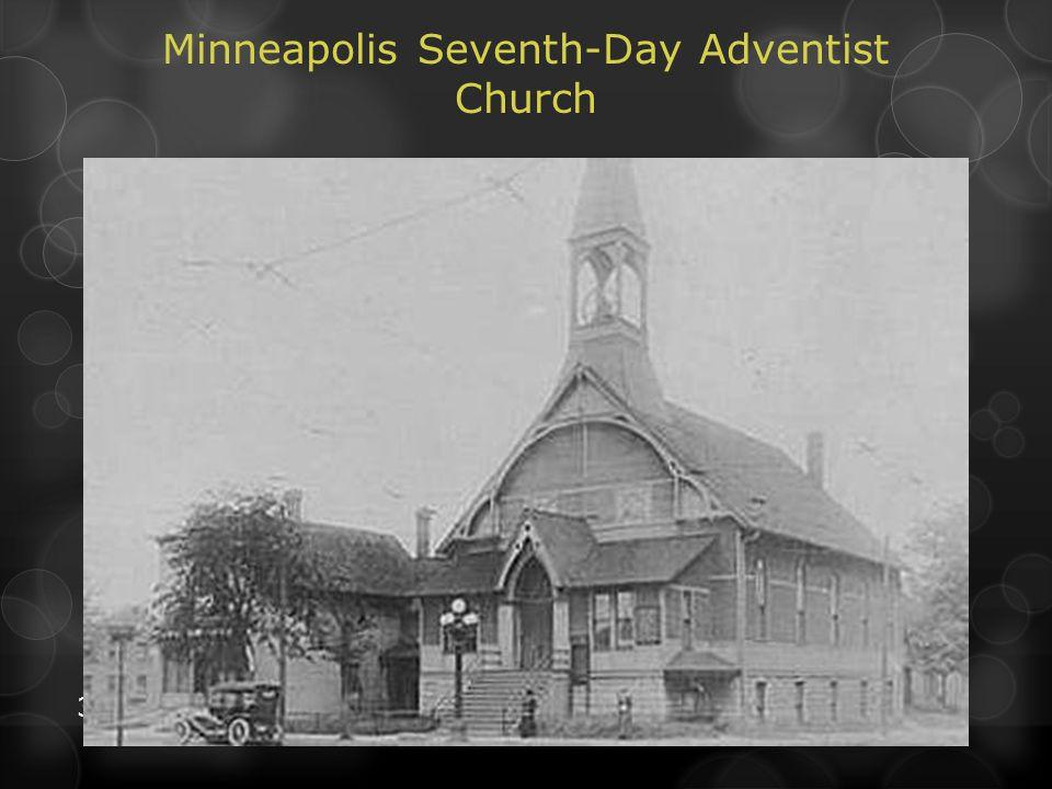 30 Minneapolis Seventh-Day Adventist Church