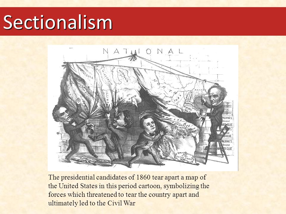 Essential Questions How did sectionalism help shape the development of the United States Constitution.
