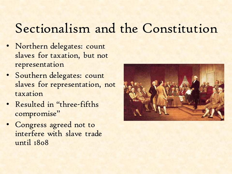 Slavery and the Northwest Ordinance of 1787 Ordinance created five new states from Northwest Territory Slavery and involuntary servitude prohibited Did not affect slaves already in Northwest Some still brought slaves to territories Pressure to continue slavery in Northwest The Northwest Ordinance