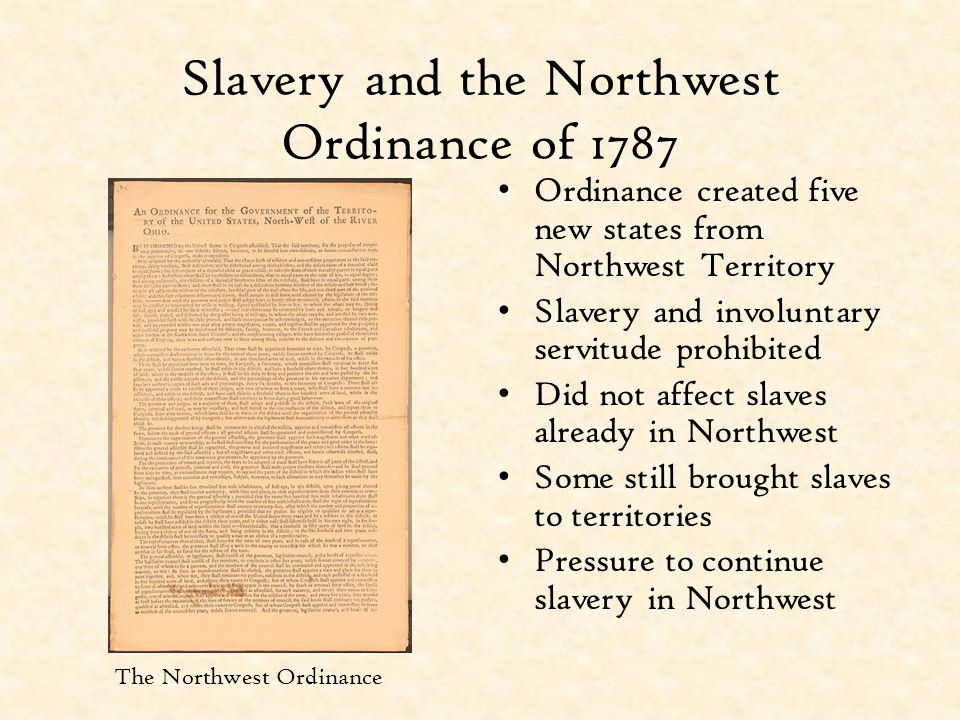 Southern Extremism Grows Southerners fearful of Northern dominance Worried that new free states would be able to abolish slavery State legislatures restricted civil liberties; made freeing slaves illegal Concept of secession became popular
