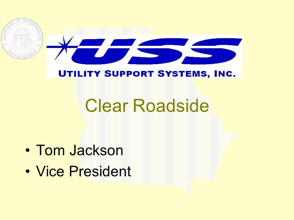 Clear Roadside Tom Jackson Vice President