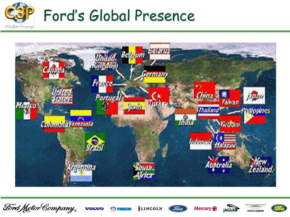 Ford's Global Presence