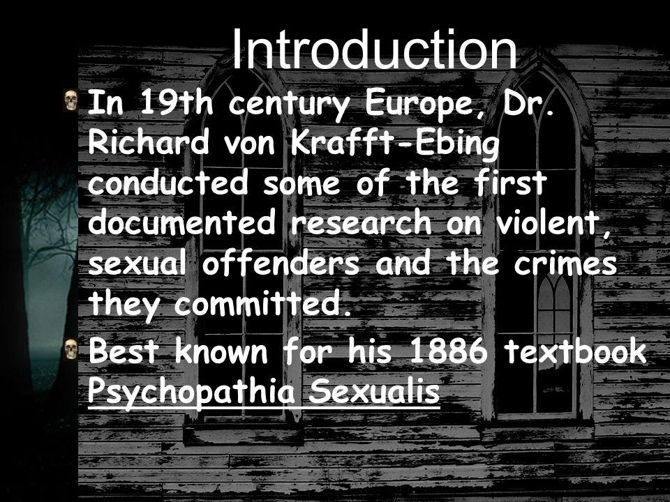 Source USA.US Department of Justice. Behavior Annalysis Unit.