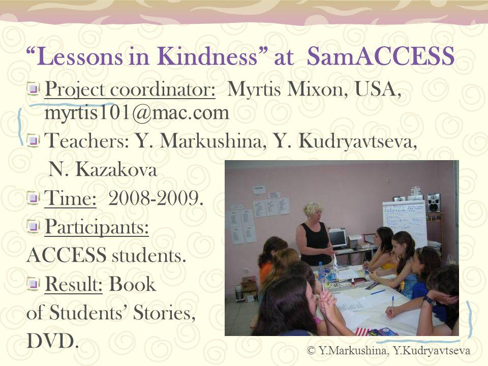 Samara Stories in the Book 1 «Persistence» Venera Khairullina, MOU Sch.