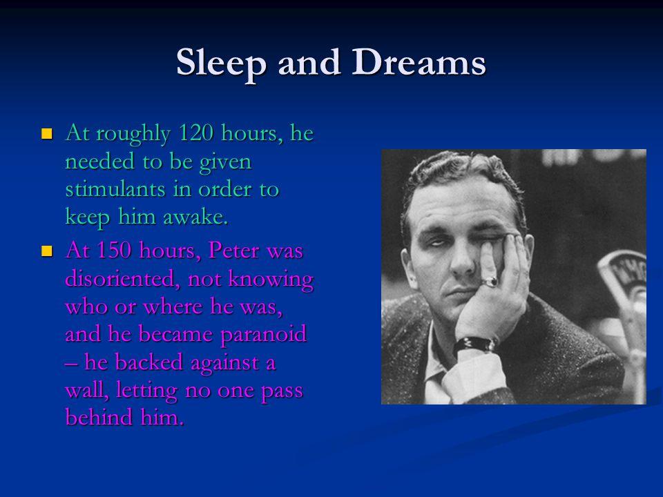 Sleep Disorders Sleep Apnea: A sleep disorder in which a person has trouble breathing while asleep.