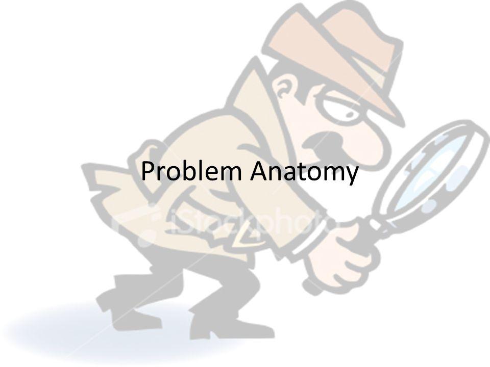 Problem Anatomy