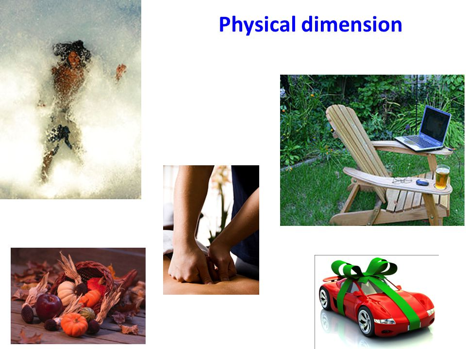 Physical dimension