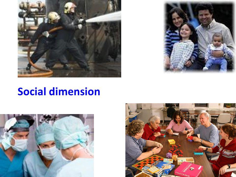 Psychological dimension