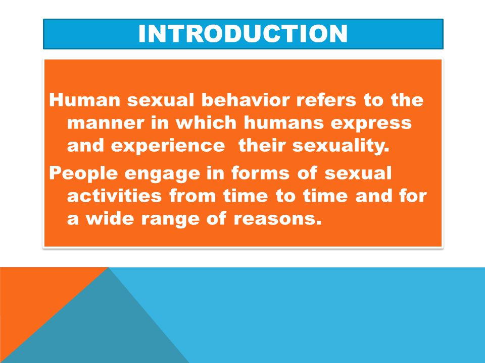 CONCLUSION The implications of early sexual behaviors are devastating, which outweigh the reasons why adolescents indulge in them.