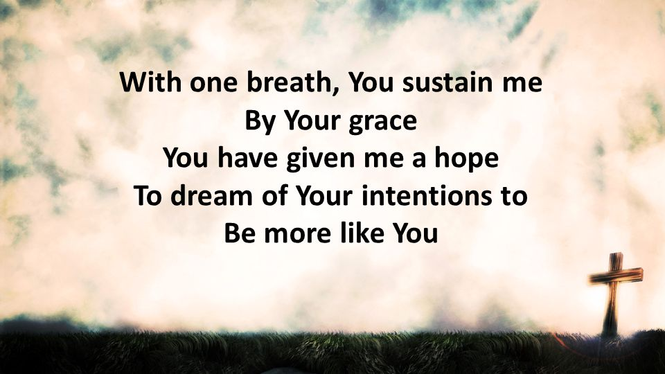 Singing as one Hallelujah holy holy God Almighty Great I Am Who is worthy none beside Thee God Almighty the Great I Am