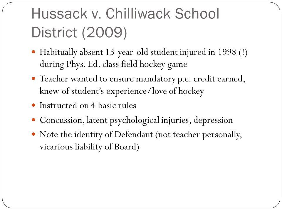 Hussack v.