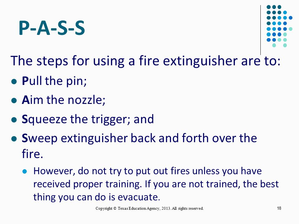 17 Types of Fires (continued) Involve potentially energized electrical equipment Can be a serious hazard to firefighters Water conducts electricity Ma