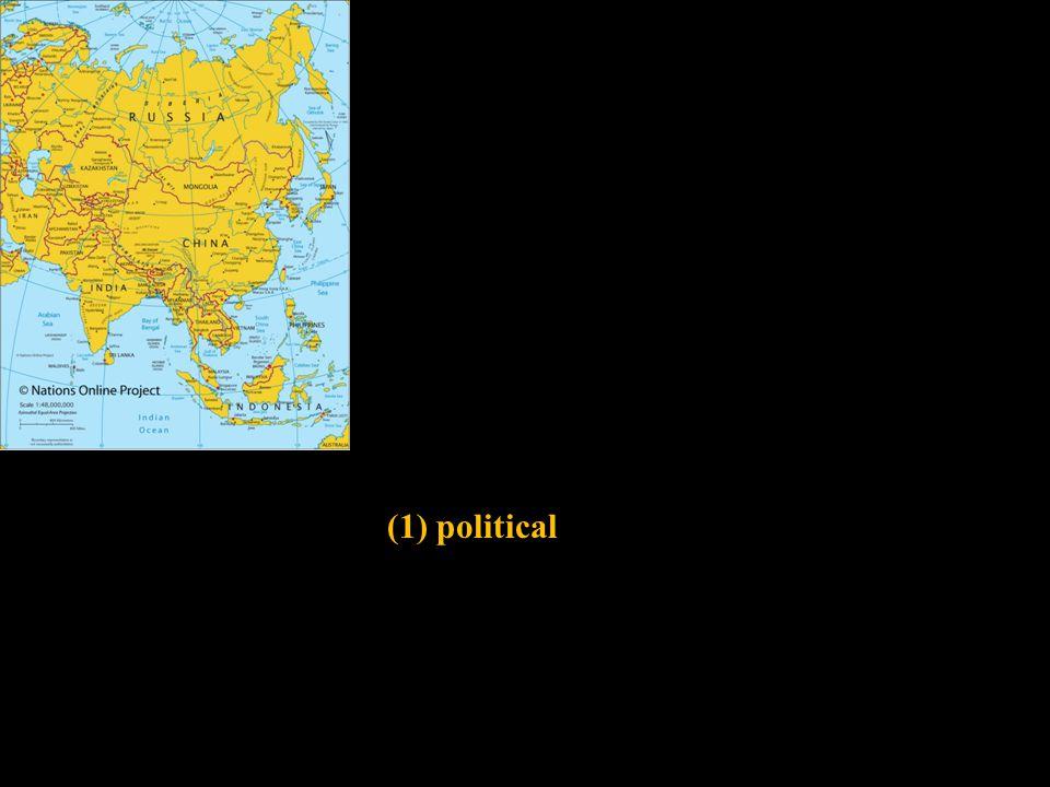 (1) political