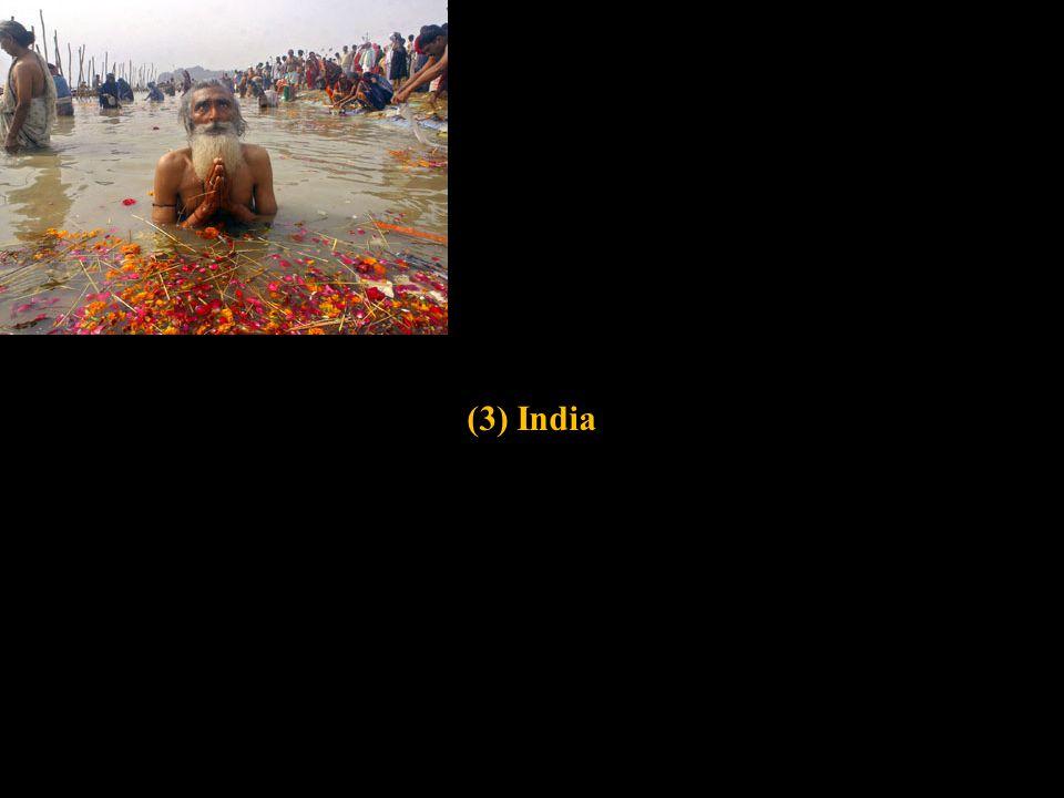 (3) India