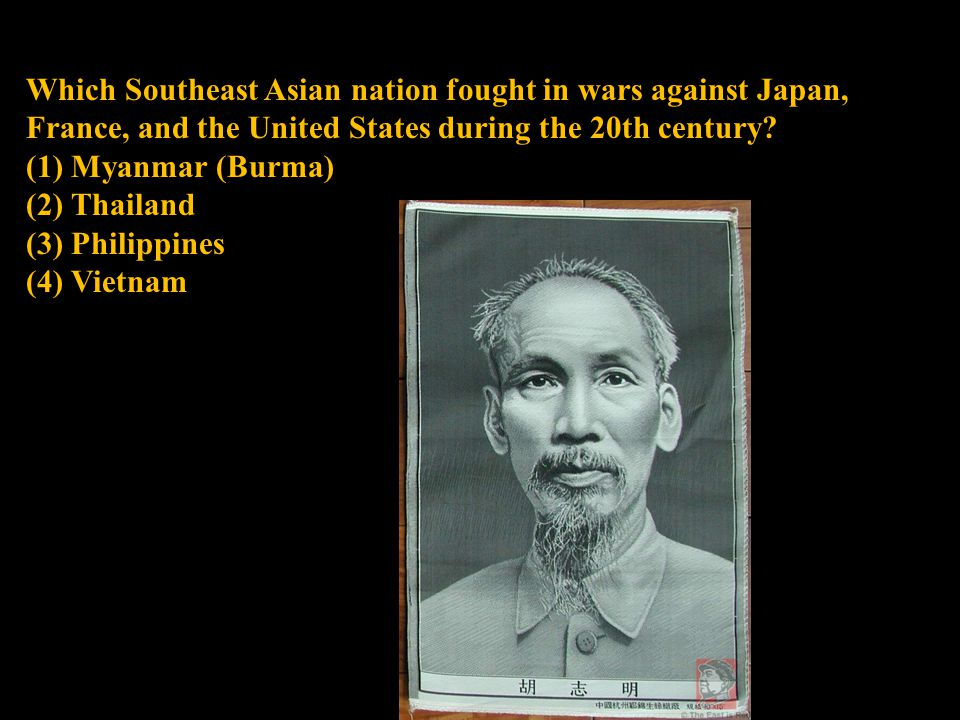Which Southeast Asian nation fought in wars against Japan, France, and the United States during the 20th century.