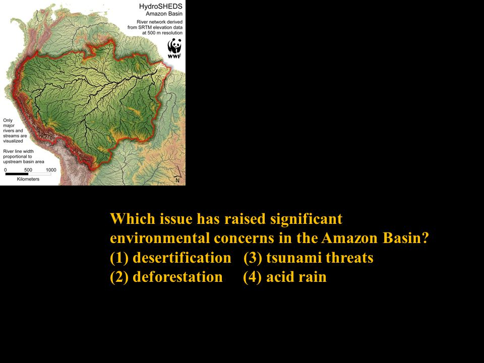 Which issue has raised significant environmental concerns in the Amazon Basin.