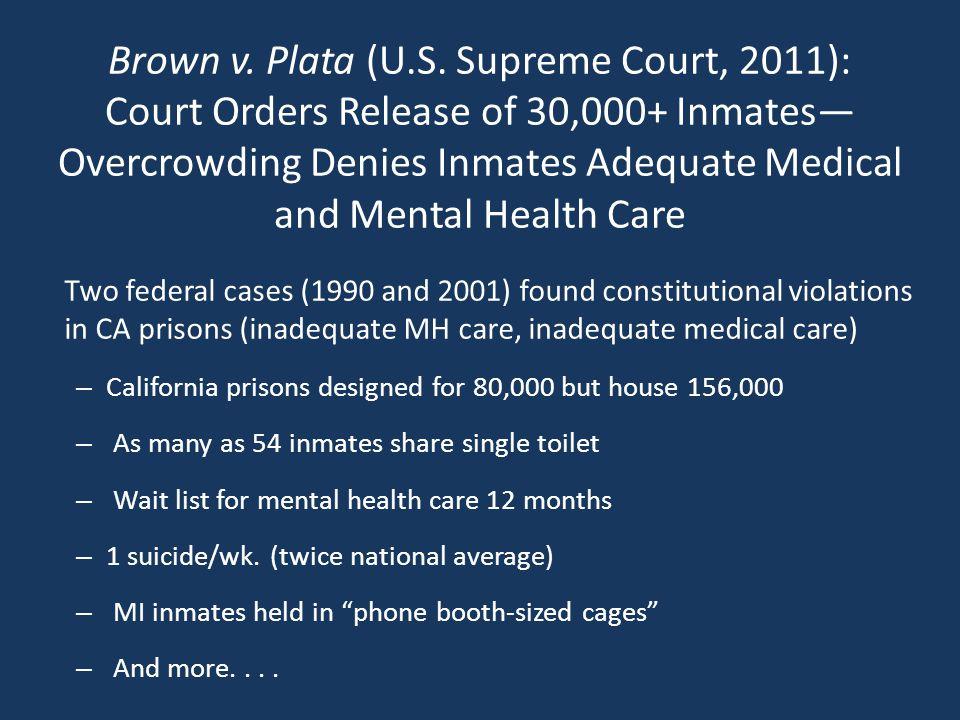 Brown v. Plata (U.S.