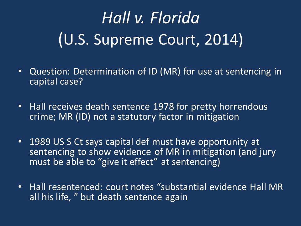 Hall v. Florida ( U.S.