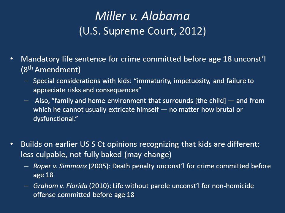 Miller v. Alabama (U.S.