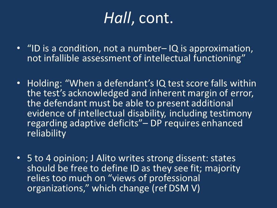 Hall, cont.
