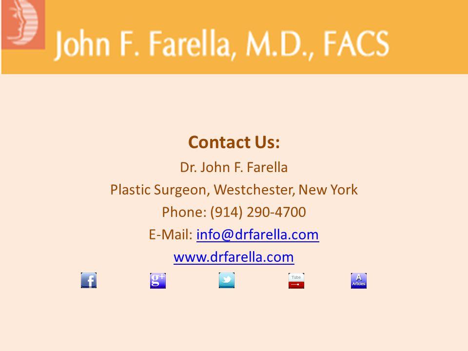 Contact Us: Dr. John F.