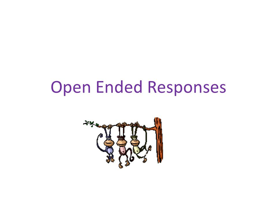 Model to use for open ended responses