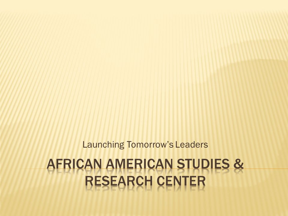 Launching Tomorrow's Leaders