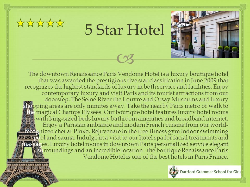 This year, we are providing a year 9 Trip To Paris for 6 days.